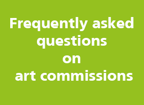 Link to Frequently asked questions on art commissions