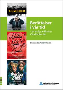 Rapport Berättelser i vår tid. Omslag