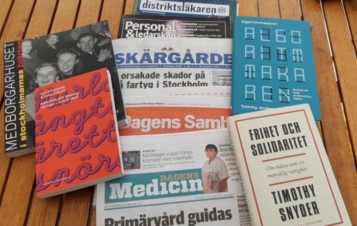 Förvaltningsbiblioteket böcker