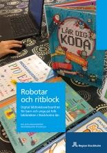 Robotar och ritblock