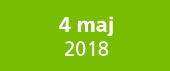 Save the date 4 maj