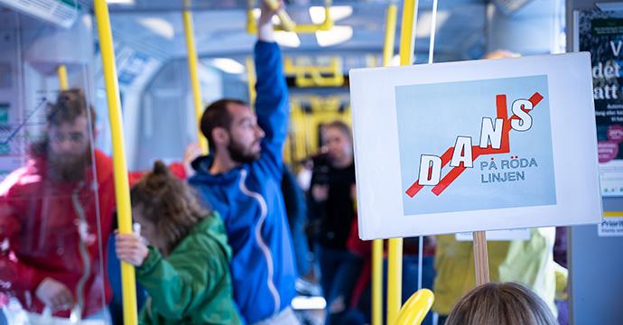 Dansare på tunnelbanan