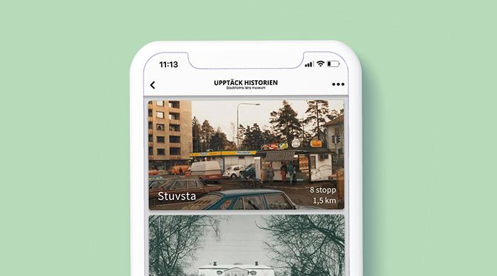 App Upptäck historien