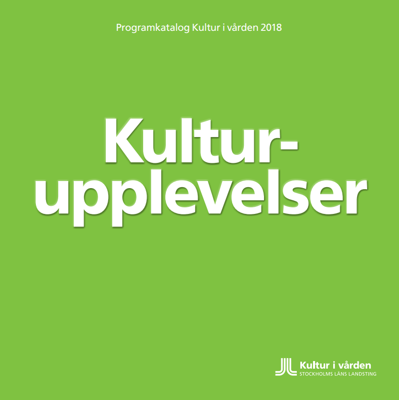 Kultur i vården programkatalog 2018