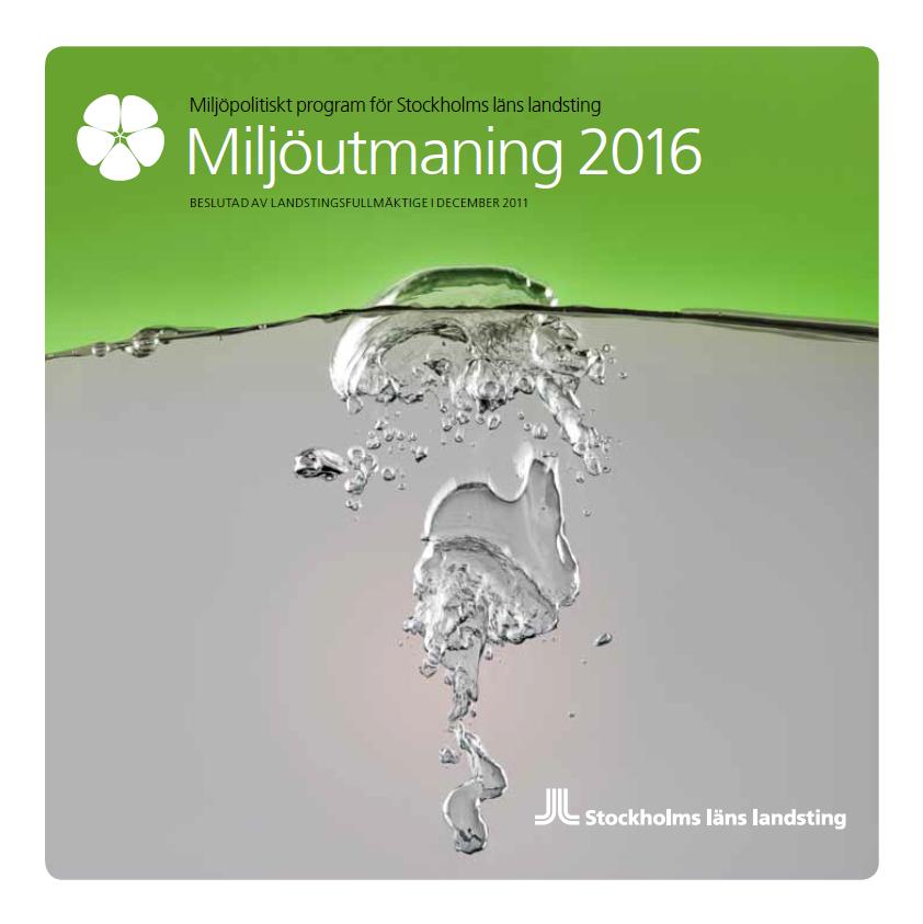 Miljöutmaning 2016 folder