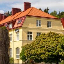 Filmbasenhuset i Subtopiaområdet i Alby. Foto: Mikael Ström Jupiter/Film Stockholm.