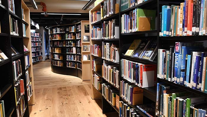 Okar Laurin enhetschef Regionbibliotek Stockholm