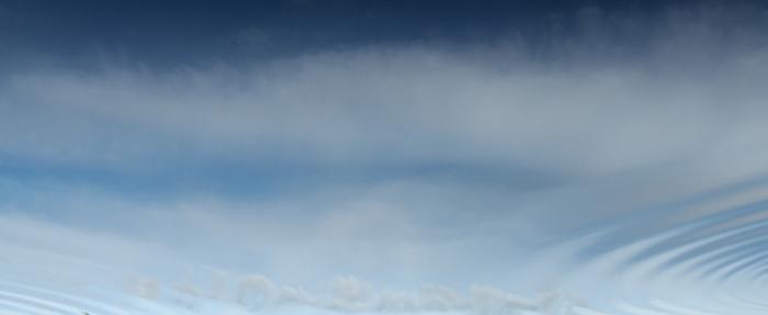 syntolkning: Stillbild från film med böljande vatten