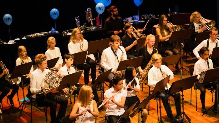 Stockholms Unga Blåsarsymfoniker Barnens Kulturdag, foto Anna Molander
