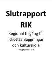 Slutrapport RIK framsida